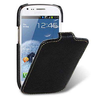 Чехол Melkco Jacka Type для Samsung Galaxy S3 Mini - черный (ssgn81lcjt1bklc)