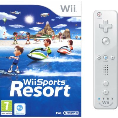 Nintendo Набор игра Wii Sports Resort и Wii Remote Plus