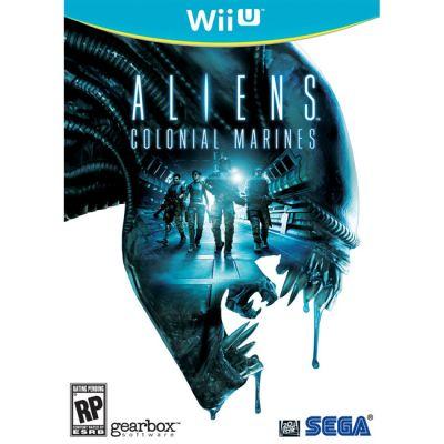 Игра для Nintendo (Wii U) Aliens Colonial Marines