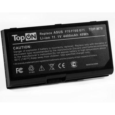 Аккумулятор TopON для asus F70 G71 G72 M70 N70 N90 Pro70 X71 X72 Series аккумулятор для 11.1V 4400mAh TOP-M70