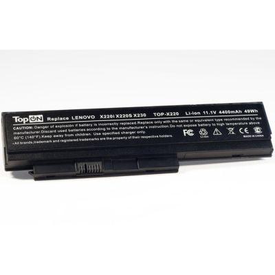 Аккумулятор TopON для ibm Lenovo ThinkPad X220 X220i X220s X230 Series аккумулятор для 11.1V 4800mAh TOP-X220