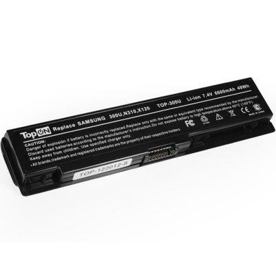Аккумулятор TopON для Samsung 300U 300U1A 300U1Z N310 N315 NC310 N311 X118 X120 X170 X171 Series усиленный аккумулятор для 7.4V 6600mAh TOP-300U