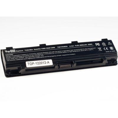 Аккумулятор TopON для Toshiba Satellite C800 C840 C850 C870 L800 L805 L830 L835 L840 L845 L855 M800 M845 P800 P850 P870 S840 S875 аккумулятор 10.8V 4800mAh TOP-PA5024