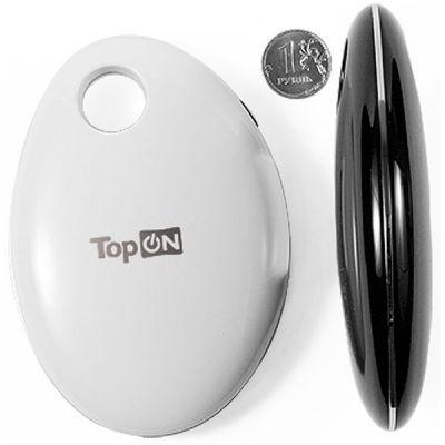 Портативный аккумулятор (Power Bank) TopON универсальный тонкий для смартфонов, цифровой техники, iPhone на 4400mAh (16Wh) Белый TOP-MIX/W