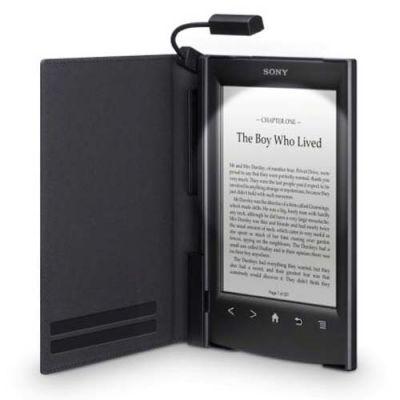 Sony обложка с подсветкой для электронных книг PRS-T2 черный PRSACL22B.WW2
