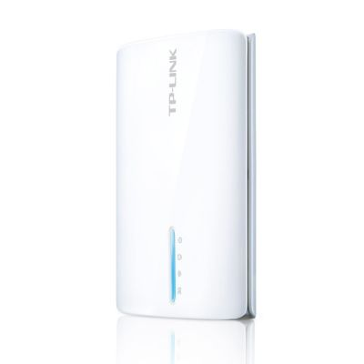 TP-Link Портативный беспроводной маршрутизатор серии N с поддержкой стандартов 3G питание от встроенного аккумулятора TL-MR3040