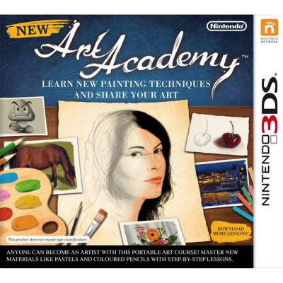 Игра для Nintendo (3DS) New Art Academy