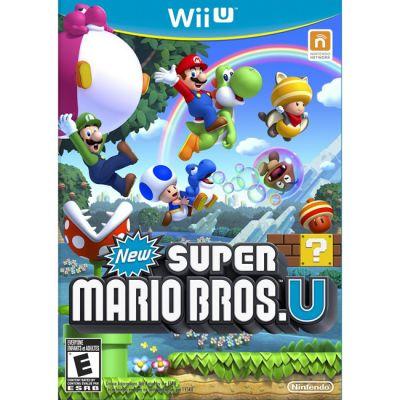Игра для Nintendo (Wii U) New Super Mario Bros U (RUS)