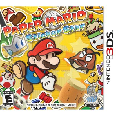 Игра для Nintendo (3DS) PaperMario Sticker Star