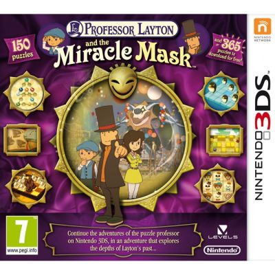Игра для Nintendo (3DS) Professor Layton and the Miracle Mask