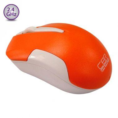 Мышь беспроводная CBR cm 422 Orange