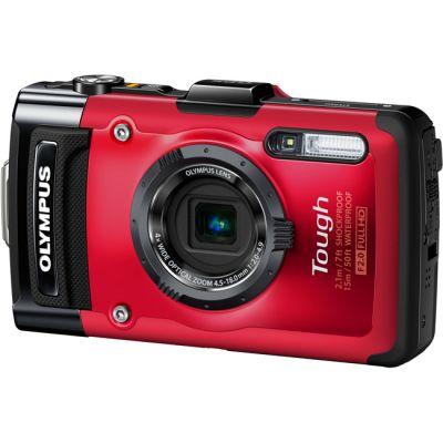 Компактный фотоаппарат Olympus Tough TG-2 iHS Red