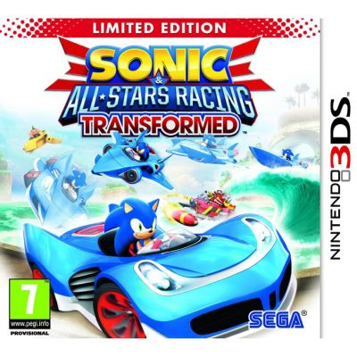 Игра для Nintendo (3DS) Sonic & All Stars Racing Transformed