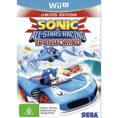 Игра для Nintendo (Wii U) Sonic & All-Star Racing Transformed. Limited Edition (английская версия)