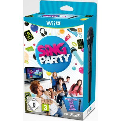 Nintendo Набор Sing Party + Microphone для Wii U