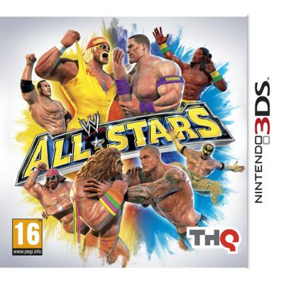 ���� ��� Nintendo (3DS) wwe All Stars