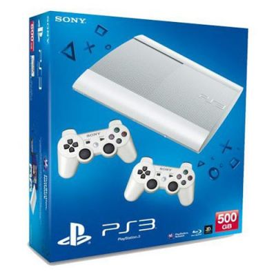 Игровая приставка Sony PlayStation3 console 500GB + Dualshock 3 White PS719271352