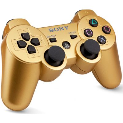 Sony ������������ ���������� PS3 Dualshock Gold ps719256533