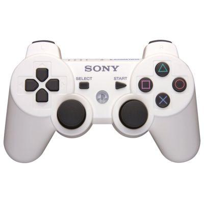 Sony Беспроводной контроллер PS3 Dualshock White ps719289814