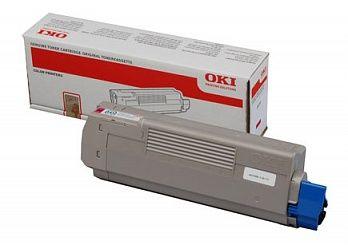 Тонер-картридж OKI MC861 Magenta/Пурпурный (44059254)