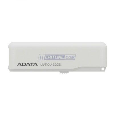 ������ ADATA 32GB UV110 USB Flash Drive (White) AUV110-32G-RWH