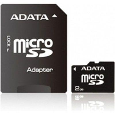Карта памяти ADATA 16GB microSDHC class10 with sd adapter AUSDH16GCL10-RA1
