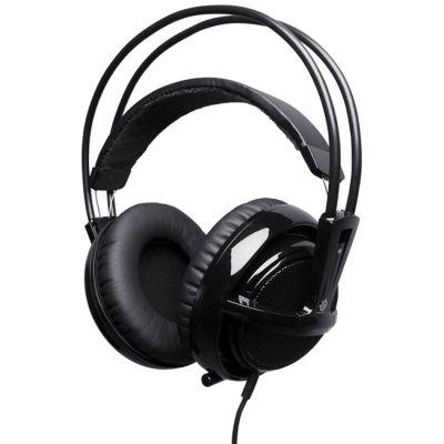 Наушники с микрофоном SteelSeries Siberia v2 full-size headset USB черные (51103)