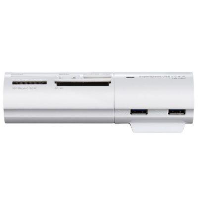 Аксессуар D-Link DUB-1342, 3-Port USB 3.0 Hub with Card Reader