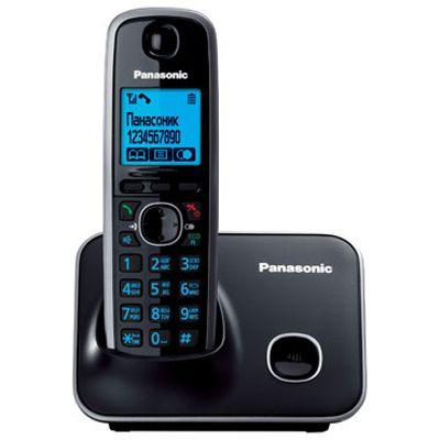 Panasonic беспроводной телефон KX-TG6611RUB