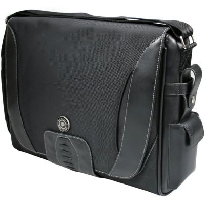 Сумка Port Designs lgendary leather messenger 15,6'' black 201128