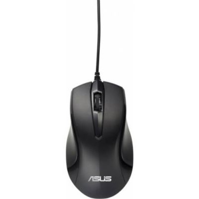 Мышь проводная ASUS UT203 wired Optical USB Black 1000 dpi 90XB0060-BMU000