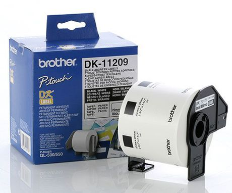 ��������� �������� Brother �������� �������� ����� Brother (800 �� - 29 x 62 ��) DK11209