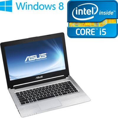 Ультрабук ASUS S46CB Black 90NB0111-M00280