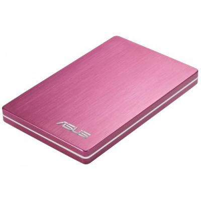 "������� ������� ���� ASUS 2.5"" 500Gb 5400rpm USB 2.0 pink ext 90-XB1Z00HD000E0-"