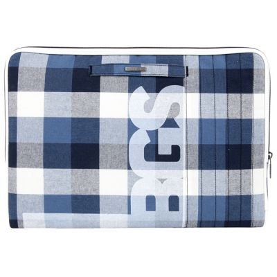 "����� Golla ��� MacBook 13"" Terry, navy plaid G1469"