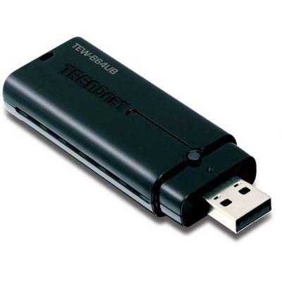 TrendNet Wi-Fi USB-������� ��������� 802.11 Dual Band N 300 ����/� TEW-664UB