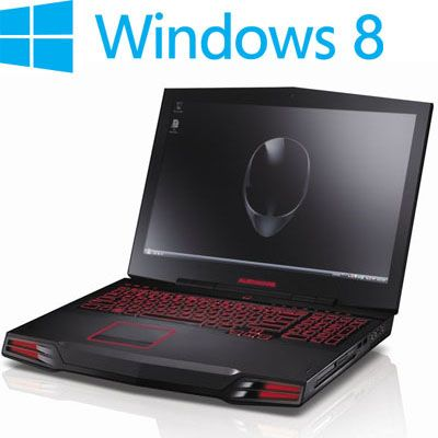 ������� Dell Alienware M17x Black M17x-7281