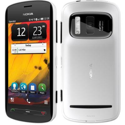 Смартфон Nokia 808 PureView (белый)