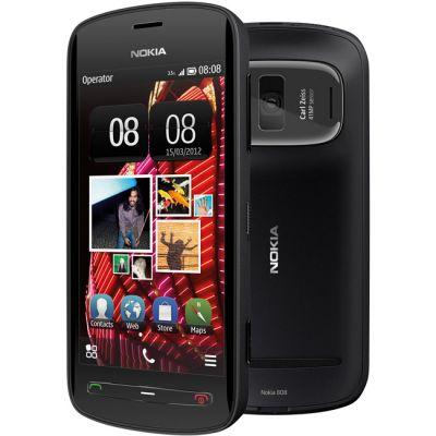 Смартфон Nokia 808 PureView (чёрный)