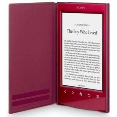 Sony обложка для электронных книг PRS-T1,T2 красный PRSASC22R.WW (PRSA-SC22/R)