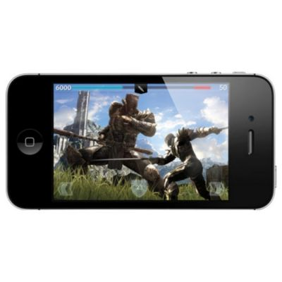 Смартфон, Apple iPhone 4 8Gb Black MD128RR/A