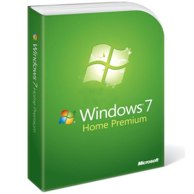 ����������� ����������� Microsoft Windows 7 Home Premium 32/64-bit Russian, Full Package, DVD BOX GFC-02398
