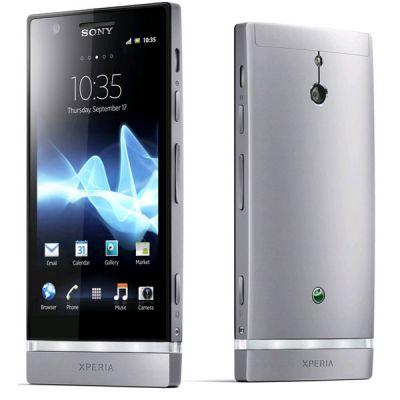 Смартфон Sony Xperia P Silver LT22i