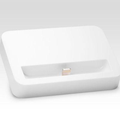 Док-станция IQFuture для iPhone 5, iPod Touch 5, iPod Nano 7 с разъемом Lightning для подключения к USB порту, White IQ-DS01/W