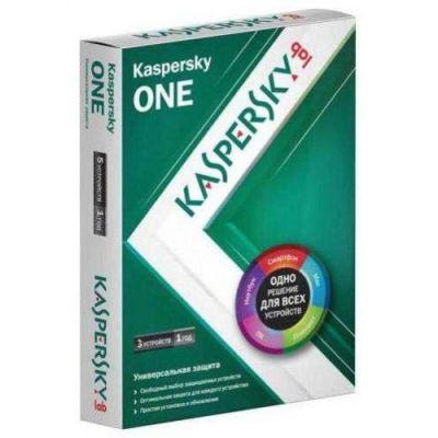 Антивирус Kaspersky one Russian Edition. 3-Device 1 year Base Box KL1931RBCFS