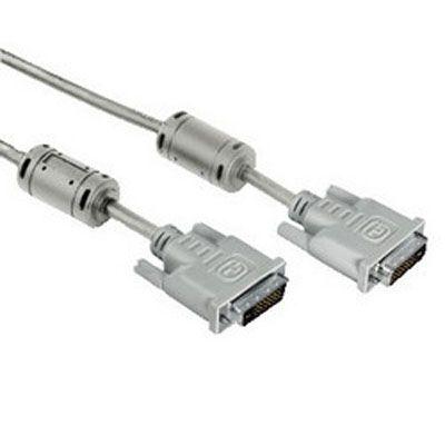 Кабель Hama DVI Dual Link (m-m), 3.0 м, High Quality, серый H-42140