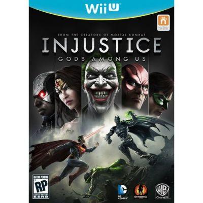 Игра для Nintendo (Wii U) Injustice: Gods Among Us