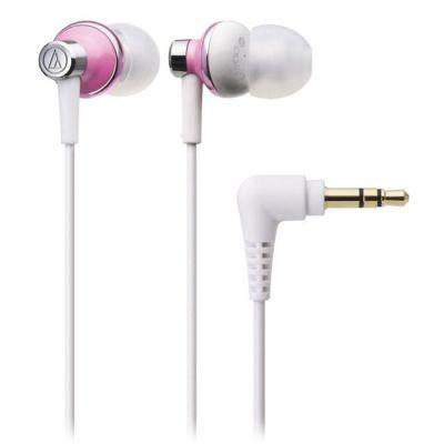Наушники Audio-Technica ATH-CK303 mpk White\Pink