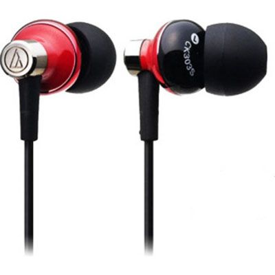 Наушники Audio-Technica ATH-CK303 mrd Black\Red