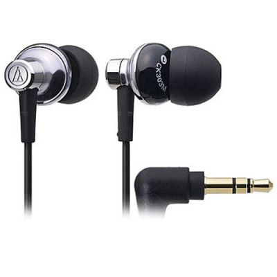 Наушники Audio-Technica ATH-CK303 msv Black\Silver